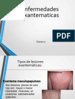 Enfermedades Exantematicas