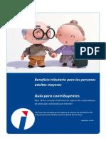 Guía Para Ingresar La Solicitud de Devolución Del IVA a Personas Adultas Mayores Desde SRI en Línea