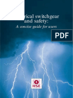 Electrical Switchgear and Safety