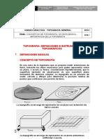 Topografia Definiciones e Instrumentos Topograficos