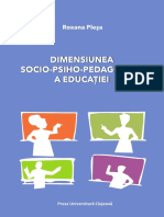 Dimens Socio Psiho Pedag a Educat Plesa Rox