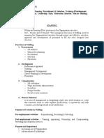 Module 4 Staffing