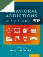 Petry, Nancy M - Behavioral addictions _ DSM-5 and beyond-Oxford University Press (2016).pdf