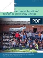 Homestay Programme as Potential Tool for Sustainable Tourism Development?