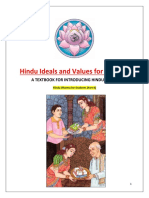Hindu Ideals and Values for Students