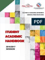 Student Academic Handbook Elelctrical Engineering Department