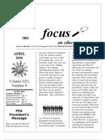 April 2010 Focus
