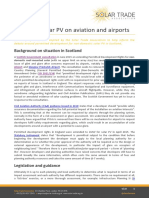 Impact of Solar PV on Aviation and Airports