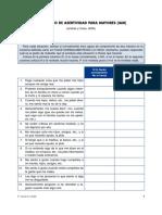 2.3.14 Inventario de Asertividad Para Mayores