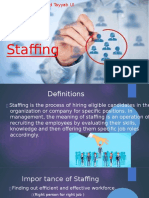 STAFFING REPORT Pagaralan at Iforward