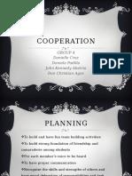 Cooperation Report