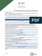 Plan de mejora servicios sociales madrid