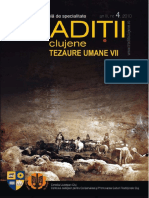 Traditii Clujene. Tezaure Umane Vii, An 2 (2009), Nr. 4