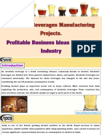 Alcoholic Beverages Manufacturing Projects