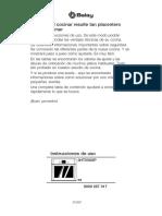Manual Horno Balay