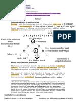 Notițe - gramatică generativă *