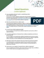 6-Provisional Practice Faqs