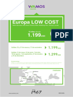 Europa Low Cost 2019 Completo Espanol