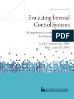 Evaluating Internal Control Systems
