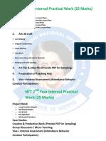Ignoc Practical & Internal Marks Scheme
