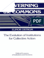 OSTROM, Elinor. Governing the Commons