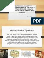 contoh rancangan penelitian tentang medical student syndrome