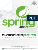 Springjdbc Tutorial