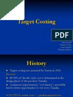 Target Costing Presentation