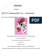 [BTS FF Freelance] 6th 'Ya!' – (Oneshoot) BTS Fanfiction Indonesia