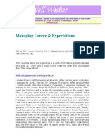Managing Career & Expectations[450]