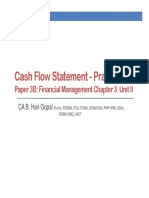 Cash Flow Statement Practicals 2
