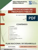 Especificaciones Del Presupuesto Público (1)