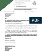 Surat Mohon Bomba