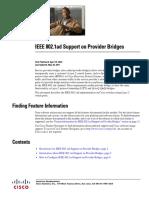 IEEE 802.1ad Support on Provider Bridges