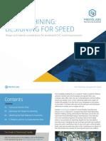 CNC Machining Designing for Speed
