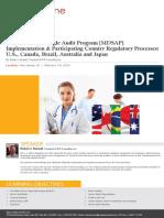 Medical Device Single Audit Program Mdsap