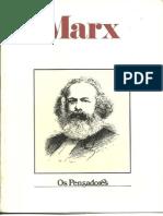 MARX - Os Pensadores