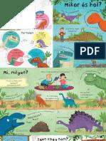 Kerdesek Es Valaszok a Dinoszauruszokrol_Olvass Bele