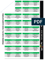 Fixture 2019 - LigaPro - Primera B