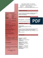 Resume Sample 1