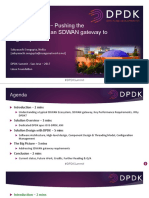 DPDK With KNI Pushing the Performance of an SDWAN Gateway to Highway Limits