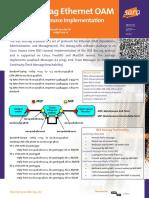IEEE 802.1ag Ethernet OAM - An Open Source Implementation