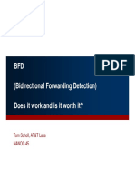 BFD - Is It Worth It and Does It Work in Production Networks