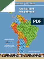 America Latina Crecimiento y Pobreza AC28