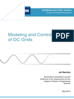 Modeling and Control of DC Grids - Jef Beerten - PhD Thesis - 2013