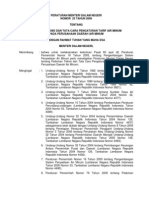 Peraturan Menteri Dalam Negeri Nomor 23 Tahun 2006 Tentang Pedoman Teknis Dan Tata Cara Pengaturan Tarif Air Minum Pada Perusahaan Daerah Air Minum