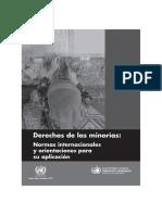 Derechos de Las Minorías ONU