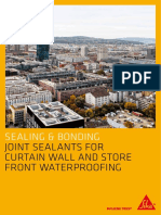 Joint Sealants for Curtain Wall Waterproofing