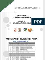 1. Talentos Clase 1 12.09.11