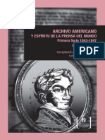 Archivo Americano PD Angelis 1843 1847